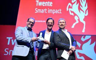 Almelo Twente.com Rode loper met Mark Rutte   ©foto eric brinkhorst